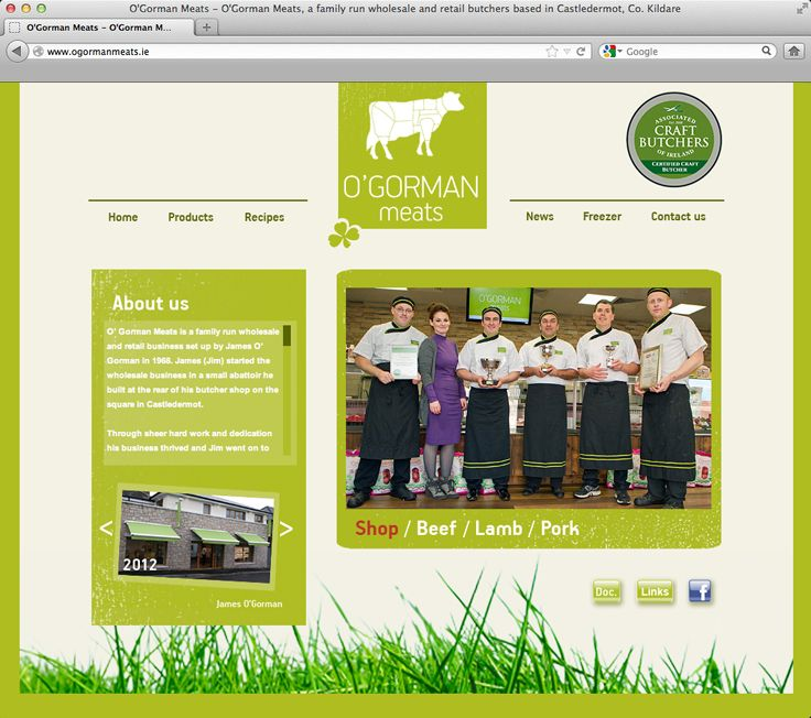 O'Gorman Meats - visit http://www.ogormanmeats.ie