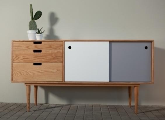 meuble vintage modernisé