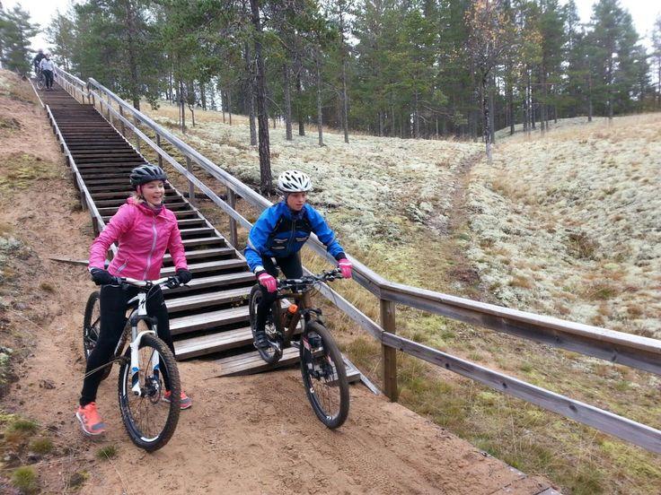 Rokua MTB ajokoulu syyskuussa 2016. Rokua Health & Spa Hotel, Finland. #maastopyöräily #mtb #mountainbiking