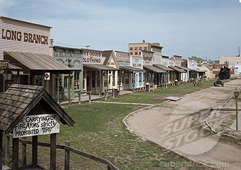 Dodge City, Kansas . . .  fun stop for the kids and western buffs