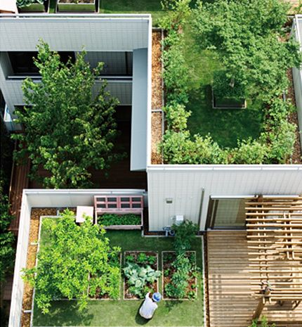 吹抜け・中庭・屋上のある暮らし | ヘーベルハウス | 実例・くらし方・商品