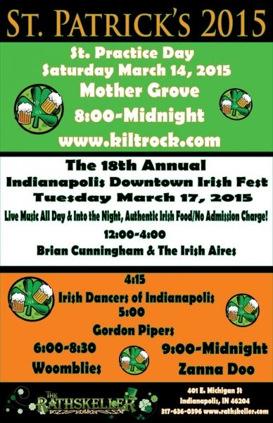 St. Patrick's Day Pub Crawl - Best of Indy for an Irish Celebration: The Rathskeller