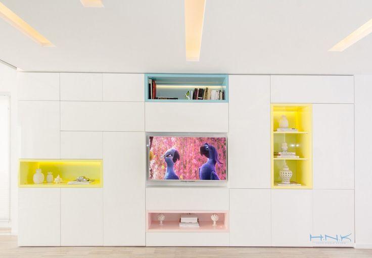 wall-unit design   by Hamid Nicola Hatrib @ H.N.K.