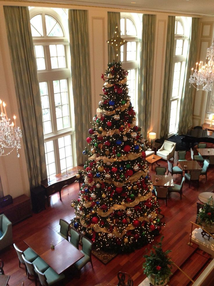Ritz Carlton of Naples Holiday decor, Christmas