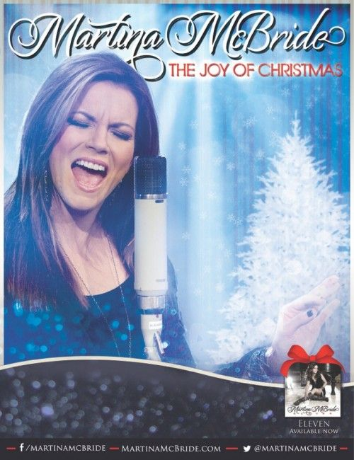 Martina McBride's 'The Joy of Christmas' Tour -saw her last night in Knoxville!