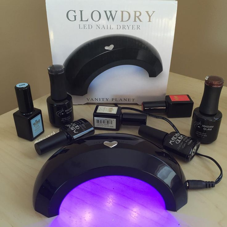 Bring home Vanity Planet's GlowDry LED Nail Dryer to make your at-home manicures easier than ever. Select between two preset timers to cure your gel nail polish to painted perfection. The GlowDry is very easy to use, lightweight, and perfect for travel.