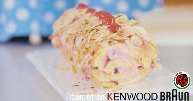 Kirschroulade aus aus Aargau selbst backen: Mit diesem Originalrezept gelingt das köstliche Kirsch-Dessert schnell und lecker. Zum Rezept auf Blick.ch