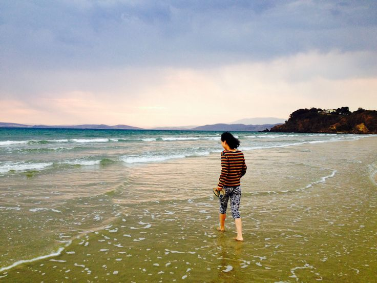 Lovely beach #Tasmania
