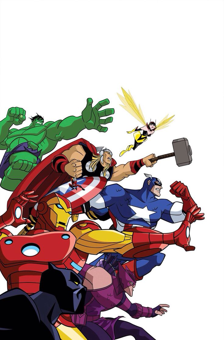 Avengers earth 39 s mightiest heroes i loved this show so much marvel sandbox - Heros avengers ...