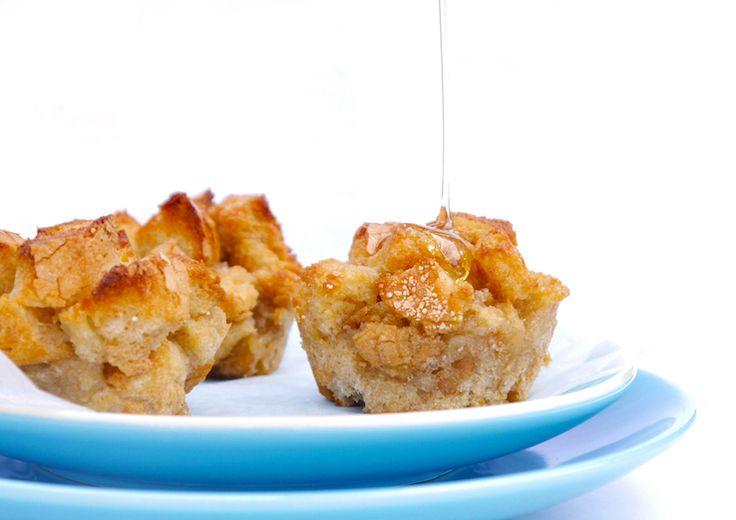 KIDS: Muffins van wentelteefjes