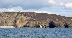 NEL LETTO DEL VENTO: Bretagna - Point de Pen-Hir: navigando alla scoperta della penisola di Crozon