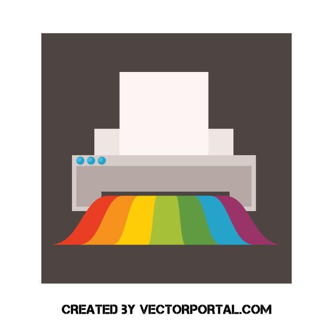 color printer vector graphic printer vector vector free free vector illustration color printer vector graphic printer