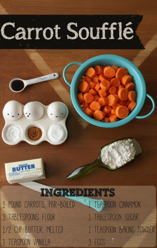 How do You Make Carrot Souffle?