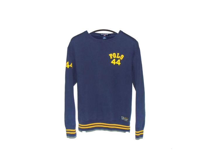 Vintage Polo Sport Ralph Lauren sweatshirt / tommy hilfiger / nautica / 90s by BLOCKPARTYVINTAGE on Etsy