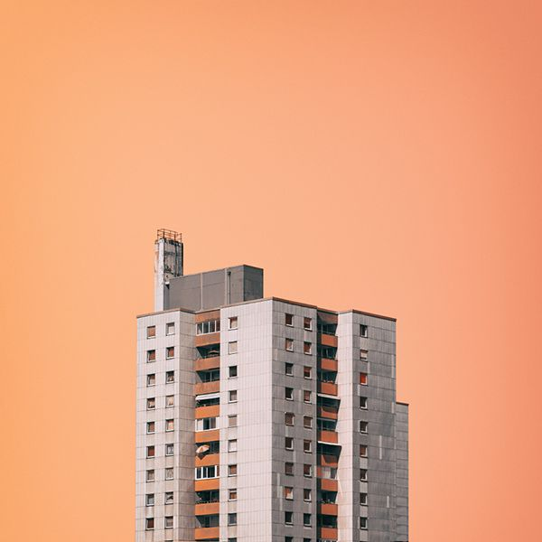 Nick Frank, Photographer - Architecture - Colors - Minimal - Peach