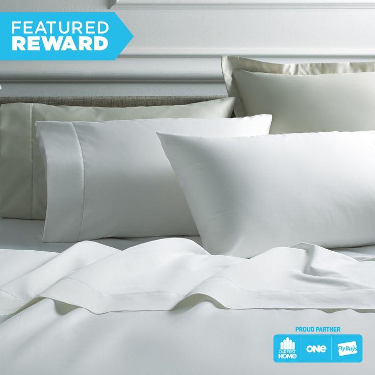 Sheridan Cotton Sateen Luxury Sheet Set - 1000 Thread Count - King #flybuysnz #sheridan #1600points #OFHNZ