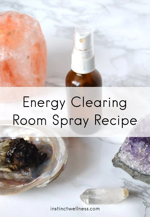 This Sage Energy Clearing Room spray will remove negative energy from your space & raise the vibrations.