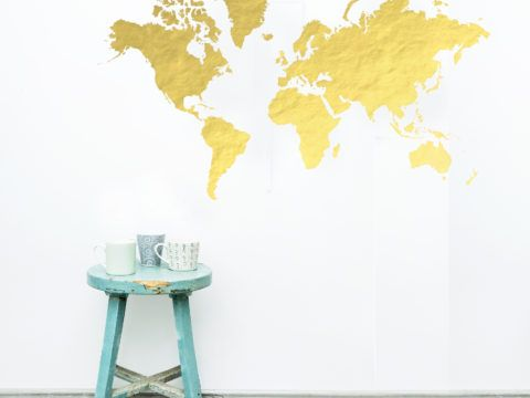 228 best sensational stencils images on pinterest wall items similar to black friday sale world map wall mural vinyl decal on etsy gumiabroncs Image collections