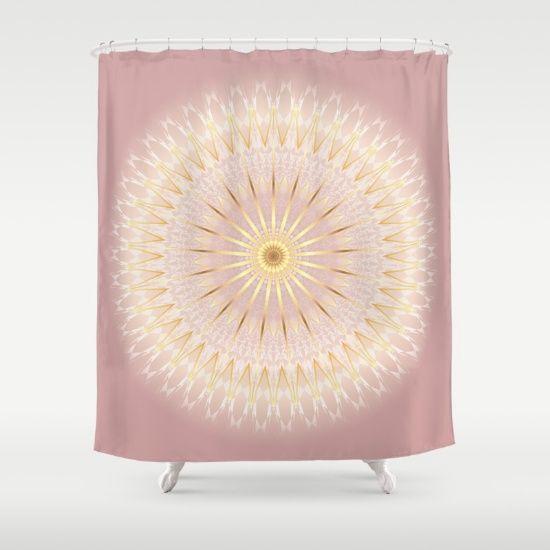 Elegant Bathroom Rose: 17 Best Ideas About Gold Shower Curtain On Pinterest
