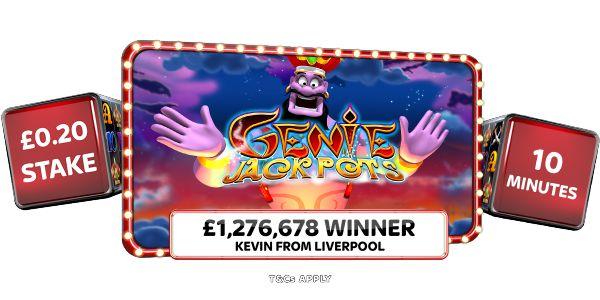 Online Casino Genie Jackpots