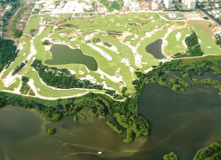 It's where golf returns to the Games after more than a century away. Built for Rio 2016, the 18-hole course was landscaped using local, native vegetation as part of an environmental recovery project. The course opens to the public after the event.