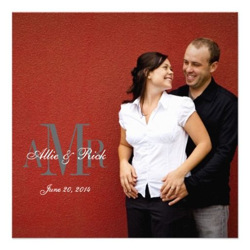 ReviewElegant Engagement Photo Wedding Invitations Backtoday price drop and special promotion. Get The best buy