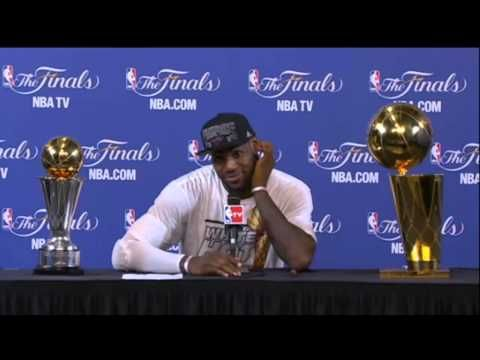 LeBron James Game 7 Post Game Press Conference (NBA Finals) [6/20/2013].