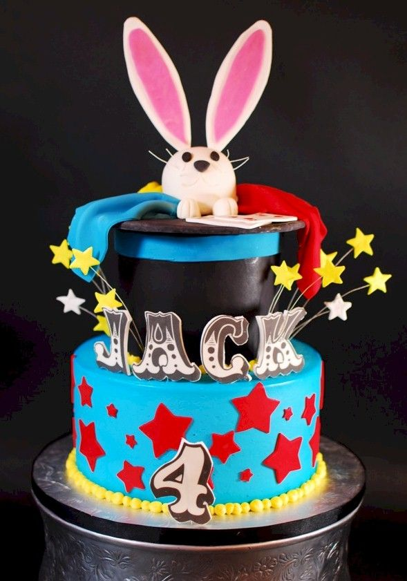 129 best Magic Party Theme Cakes images on Pinterest Magic