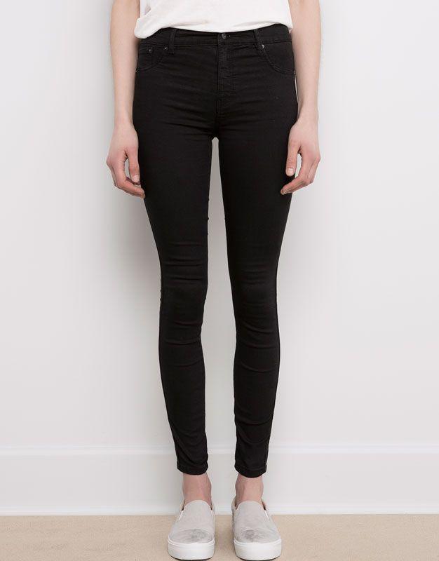 #PullBear | JEGGING BASIC SUPER ELASTIQUE | #mode #femme #jean #shopping #lifestylemode