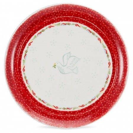 Portmeirion Christmas Wish Dinner Plates Set of 4 - Christmas Wish - Portmeirion UK