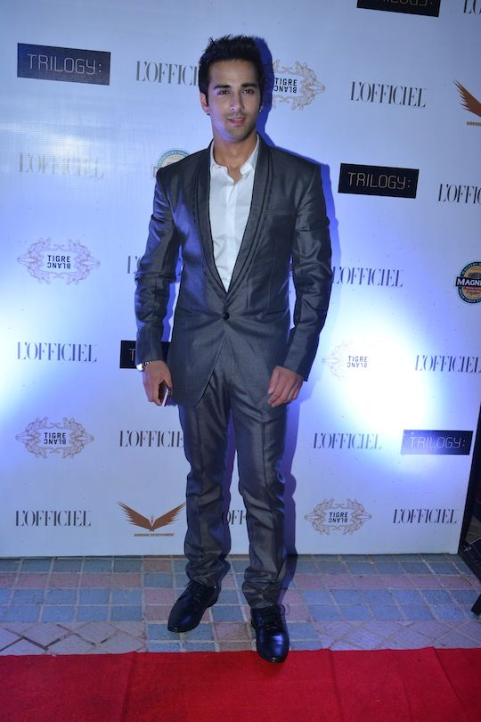 Pulkit Samrat at The L'Officiel Party #Bollywood #Fashion #Style