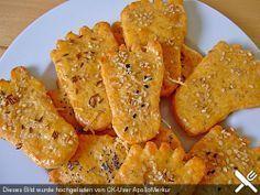 Käsefüße Käsekekse