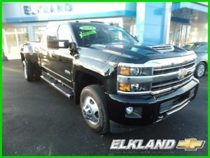 2018 Chevrolet Silverado 3500 High Country 2018 High Country Used Turbo 6.6L V8 32V Automatic 4WD Pickup Truck