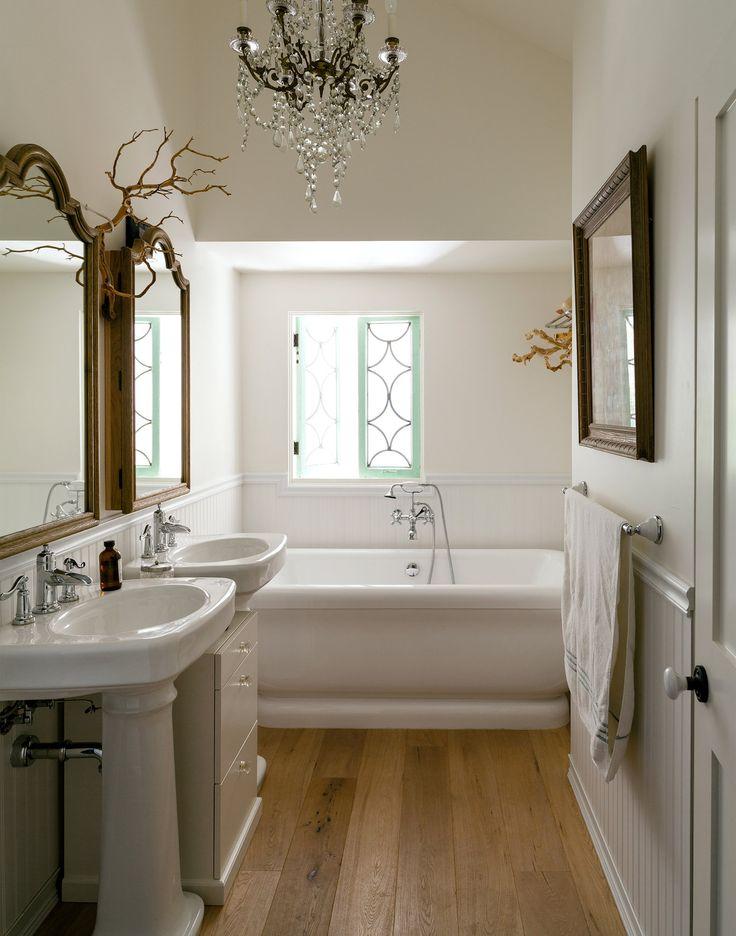 Small Bathroom Chandelier 123 best bathrooms images on pinterest | bathroom ideas, new york