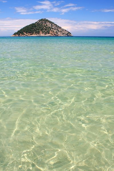 Paradise Beach, Thassos island, Greece. - Selected by www.oiamansion.com in Santorini.