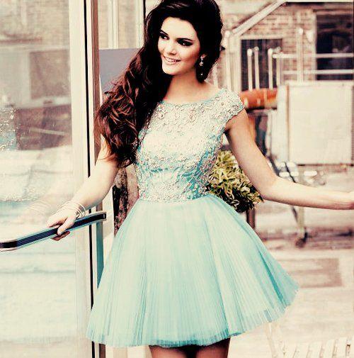 mint, dress, fashion