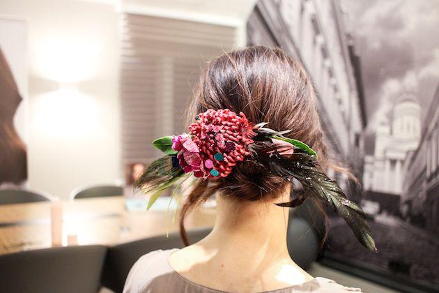 Kevin Murphy ja kesätuulet 2016 | Kristallikimara - #Janne_Caro from #ParoneDesign made #hairaccessories of real Flowers and crystals https://anna.fi/jenni-ukkonen/wp-content/uploads/sites/6/2016/03/IMG_6725.jpg
