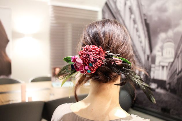 Kevin Murphy ja kesätuulet 2016 | Kristallikimara - #Janne_Caro from #ParoneDesign made #hairaccessories of real Flowers and crystals https://anna.fi/jenni-ukkonen/wp-content/uploads/sites/6/2016/03/IMG_6725.jpg
