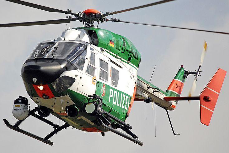 Deutsche Polizei BK117 helicopter // Photo Markus WILLMANN