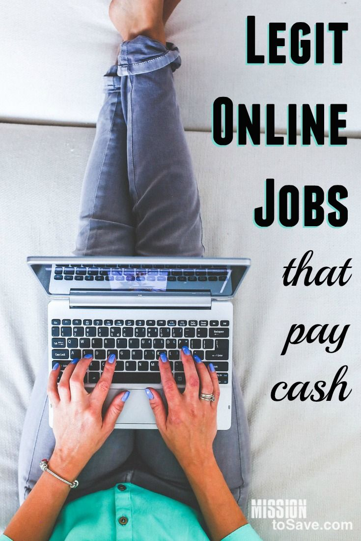 You don't have to look far to see someone asking about legit online jobs. Especially if those jobs pay in cash instead of gift cards or rewards. Check out this list of ideas to get you started in the online work from home field. Great for paying down debt or the stay at home mom.