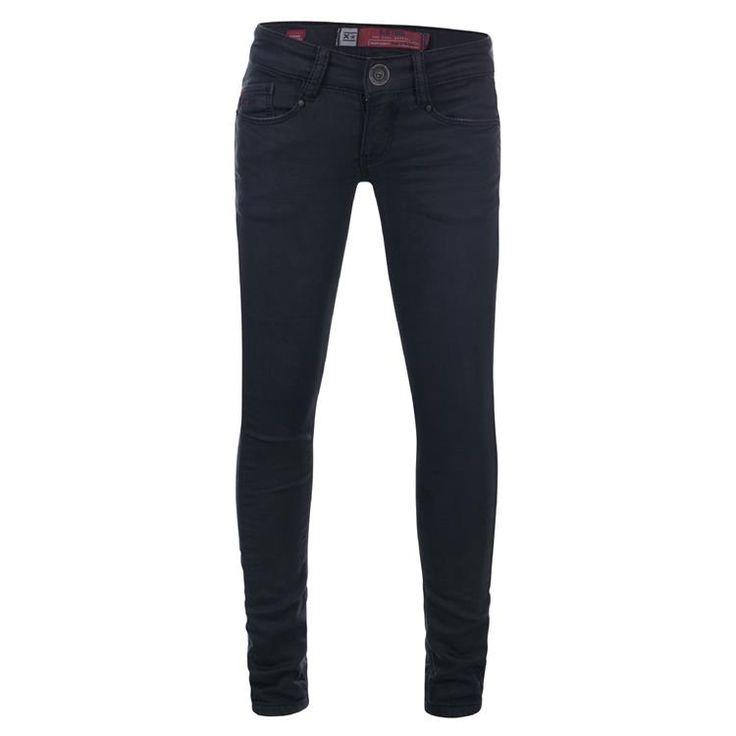 Blue Rebel PYROPE - BLACK BLACK - ultra skinny fit jeans - betties