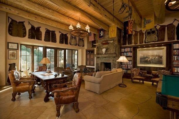 Best 25 rustic western decor ideas on pinterest western for Decorate office cabin