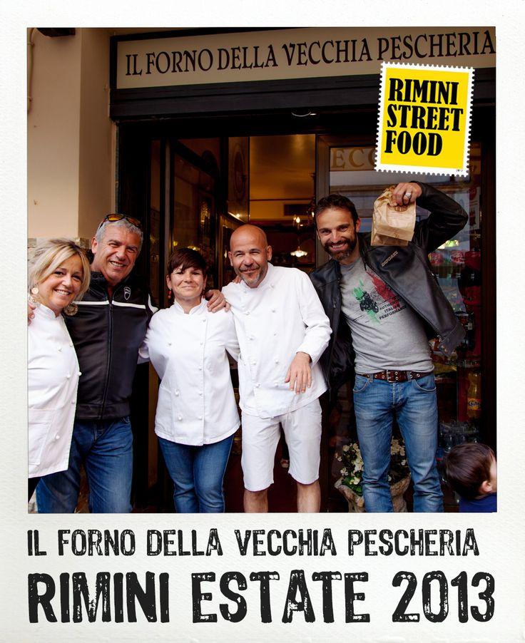 Il Forno della Vecchia Pescheria #rimini #food #streetfood