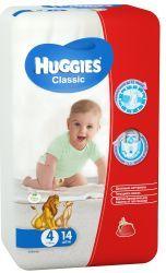 Хаггис подгузники Classic (4) 7-18кг 14шт12 - 25 кг