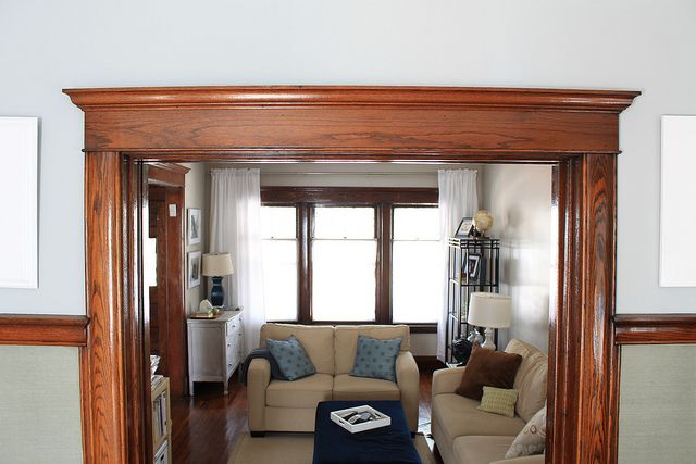 Best 25 wood trim walls ideas on pinterest decorative for Advanced molding and decoration