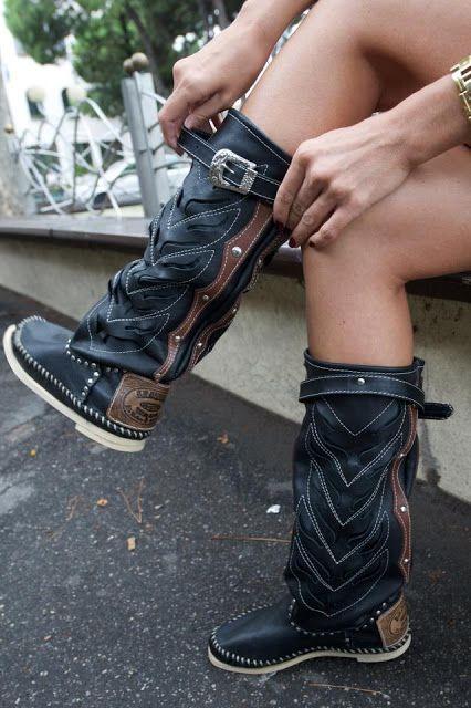 Hector Riccione boots    #elblogdeAmayaLavid