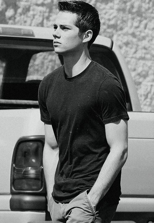 Dylan O'Brien (Stiles Stilinski) My favorite character in Teen Wolf