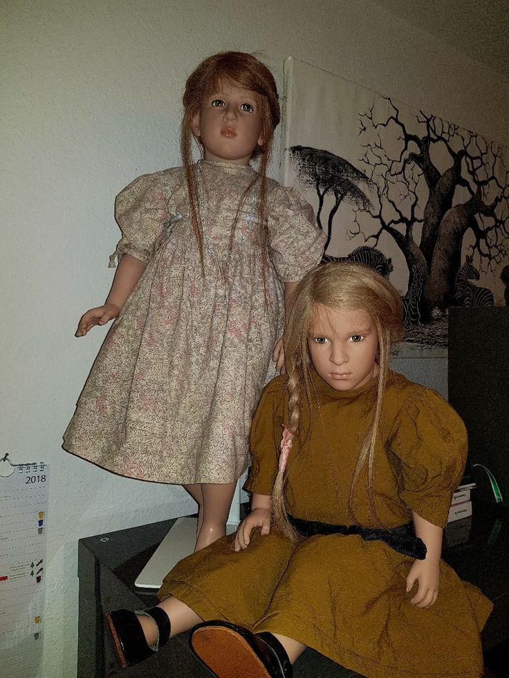 2 Sigikid Puppen