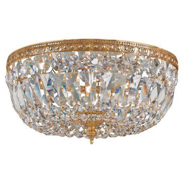 Check out this item at One Kings Lane! Richmond Flush Mount, Brass