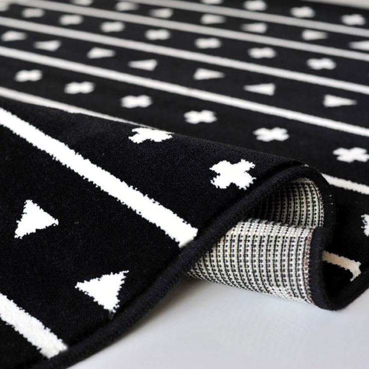 Teppich Wolle Pattern black von Lorena Canals, 180,00 €